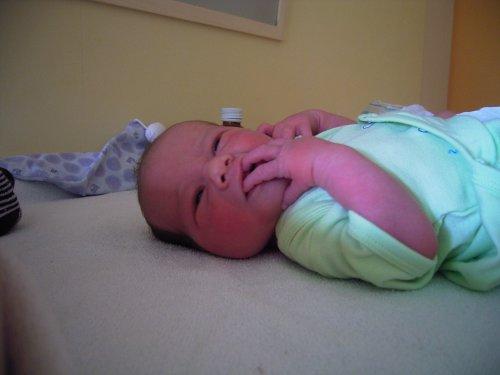 Tweeling Baby Slaapkamer : 25 februari 2006: de eerste nacht thuis zit ...