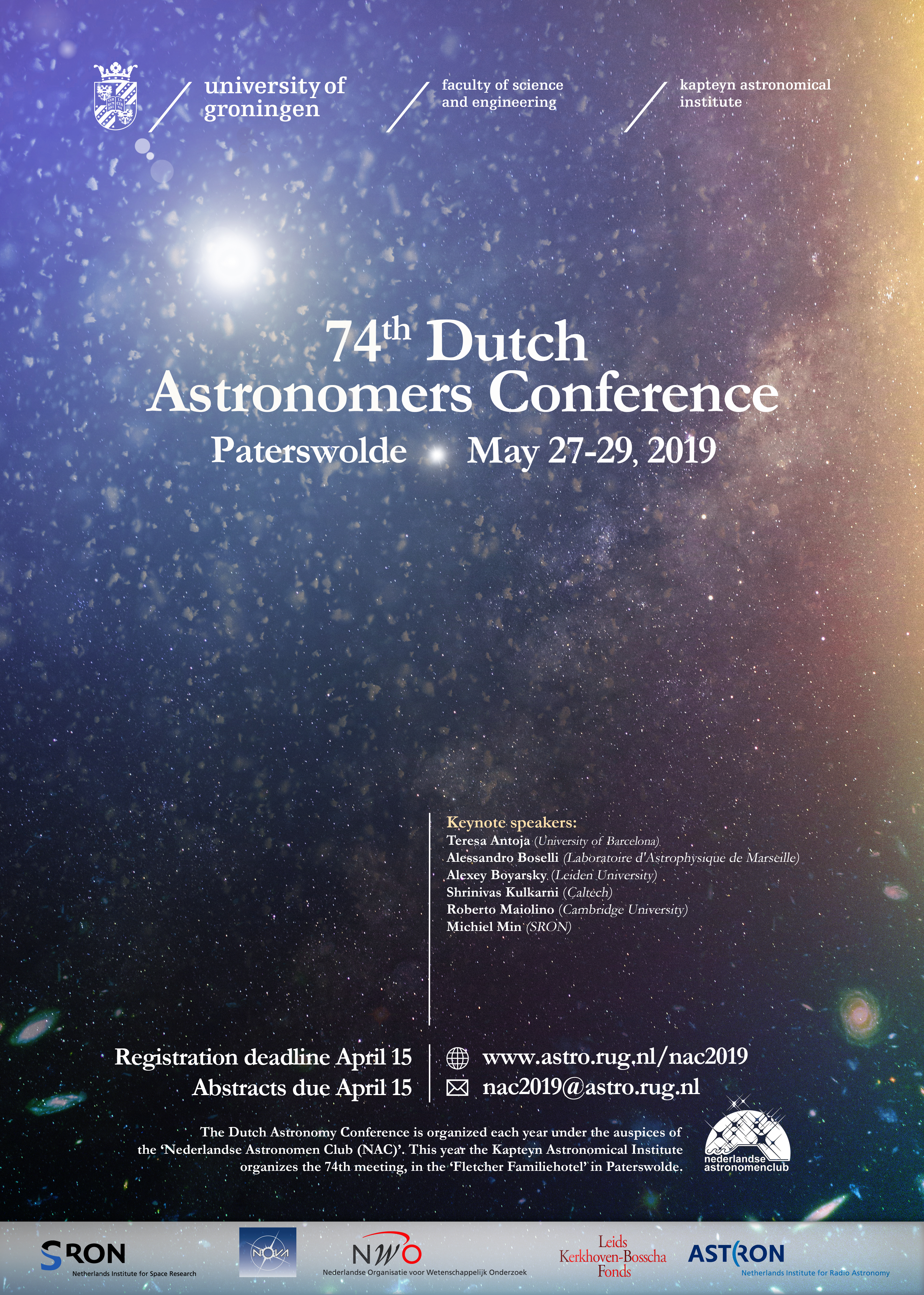 NAC 2019 - Kapteyn Astronomical Institute